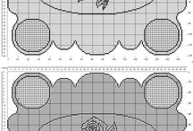 Filet crochet patterns rectangular doilies / Filet crochet patterns rectangular doilies, free download, made with software, uniques...