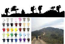 """Camisetas Serigrafiadas para Senderismo / Personalizamos todo tipo de camisetas, en algodón, poliéster y técnicas, camisetas serigrafiadas para agrupaciones de senderismo, peñas, asociaciones de medio ambiente. Grupo Textil. """"Andaluza de Serigrafía"""" Telf. 955114744 www.grupotextil.es"""