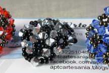 anillos de swarovski hechos a mano