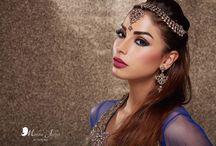 Malika Jafrin Makeup Training School Portfolio / Portfolio created by students with Malika Jafrin support