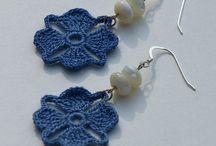 Earrings crochet / Crochet tutorial
