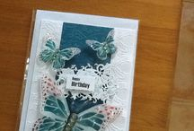Morag's Handmade Cards / Selection of my cards