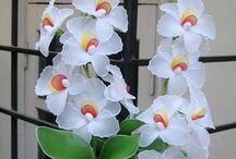 Pończochowe kwiaty