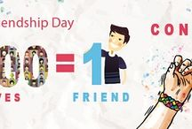 "FriendshipDay Contest - ""1000 relatives = 1 friend"" contest / We are sure all of you have had special friends, Some may be still in touch and some may have lost touch. Let us recollect all the good times and remember those Special moments spent with our friends. On the occasion of 'Friendship Day' we present to you ""1000 relatives = 1 friend"" contest."