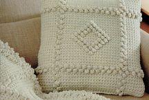 uncinetto tunisino coperte cuscini