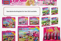 Year 2014 New Mega Bloks Barbie Building Sets are available