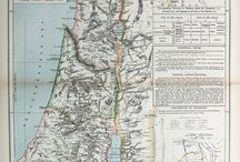 Maps of the Middle East, Israel, Palestine, Holy Land