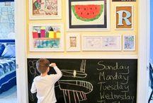zdjęcia, małe dzieła na ścianach | photo/ art display