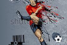 Soccer graffitti