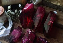 the witch is in: Ruby Aura quartz