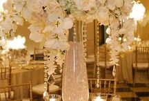 Centerpiece Inspirations for a Grand Hall Bride