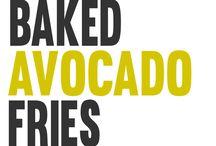 Gebakken avocado