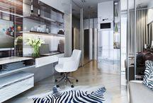 iroda a lakásban