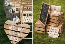 Rustic Wedding Decor / Rustic Wedding Decor