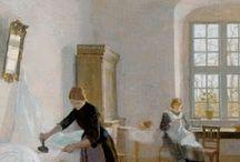 Christian Vilhelm Mourier-Petersen - Danish Artist
