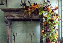 Mantels and fireplaces / by Karen Hamilton