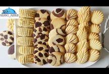 tek hamurdan kurabiye