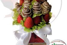 Fresas con chocolate / Los mas deliciosos arreglos de fresas con chocolate