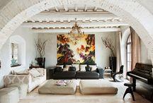 Волшебный дом / Сегодня с легкой подачи испанского журнала Nuevo Estilo  мы покажем вам как заброшенный дом может превратиться в дом мечты…