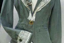 Arreglar chaqueta gris