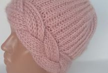 pletené čiapky