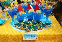 Beach party ideas / Σκέφτεστε να διοργανώσετε ένα πάρτυ στη παραλία ή γενικά να διοργανώσετε πάρτυ με θέμα την παραλία;  Εδώ θα βρείτε υπέροχες, δροσερές ιδέες για να εκπλήξετε ευχάριστα τους καλεσμένους σας!