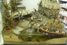 Diorama militaire 1/35