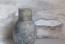 Pottery and Paintings