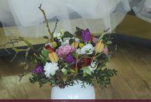 Rustic Spring Wedding / Organig rustic spring wedding concept - colourful