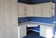 Home Offices / Our unique Murphy Bed systems allow you to turn one room into a dual use guest bedroom & home office in hours!