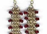 Jewelry - Chain Maille - Earrings / by Carolyn Filer