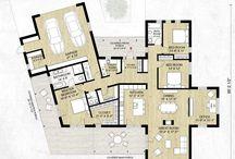 Floor plan-housing