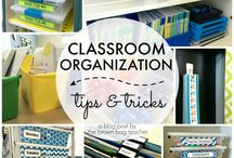 Classroom Organization / Ways to organize the classroom so it's not such a nightmare.