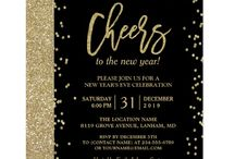 New Year's Eve Party Invitations - unique designs, personalise / New years eve party invitations - click to personalize yours. Hand chosen mix of modern, funky, elegant, classy and different invitations for New Years Eve created by talented zazzle designers. This board is being added to all the time. #newyear #newyearseve #invitations #partyinvites #invitation #affiliate #cheers #countdown #party