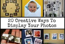 DIY ways to display photos / Way to dusplay your phitos