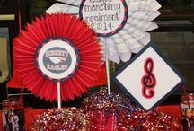 band decorations