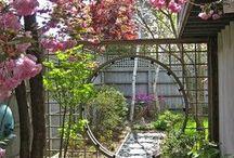 границы в саду