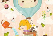 Kids Illustrations / Ilustraciones Infantiles