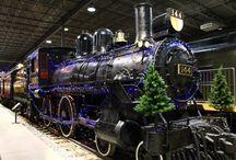 Noël ferroviaire / Railway Christmas / #trains #musée #museum #Noël #Christmas