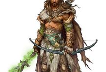 Rangers, Hunters, Barbarians, Druids