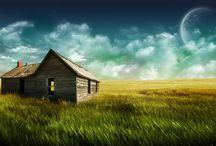 Farmhouse / by ⚓ Melody Gause