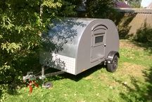 home made teardrop trailer / home made teardrop trailer