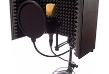 Vocal stuff / To keep all kinds of vocal equipment and to practice ur voice with