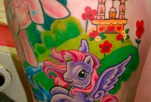My little pony tattoo