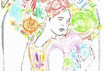 Dibujo y Pintura / Mis expresiones artístícas