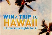 Hawaii Vacation enter to win / by Betty Massengale