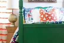 Vivre en couleurs / Utiliser les couleurs vives et saturés dans son environnement. Oui oser!