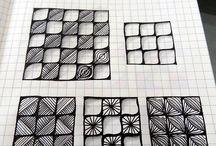 Art Zentangle A / by Sharon Salu
