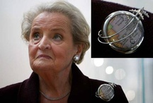 Madeleine Albright and her brooches