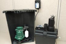 Sump Pumps / Sump pumps may be an integral part of keeping your home dry.